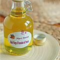Une huile merveilleusement parfumée ...