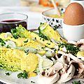 Sauce onctueuse aux pois chiches et curcuma pour salades et tartines
