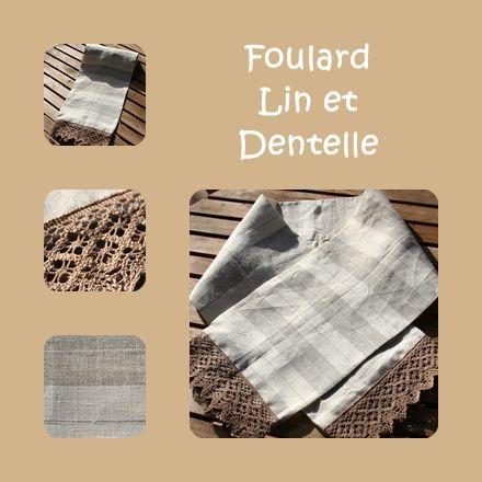 Foulard_Lin_dentelles