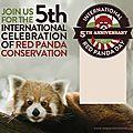 Samedi 20 et lundi 22 septembre 2014, journées internationales du panda roux et des rhinocéros