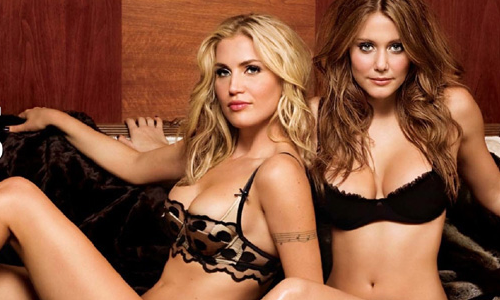 Willa Ford et Julianna Guil