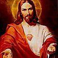 Exposition dédiée au Sacré Coeur de Jésus