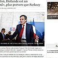 François Hollande est un Salopard Plus Pervers que Sarkozy - Au moins c'est dit