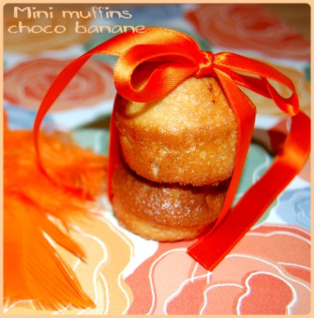 recettes  Muffins aux bananes et fromage  la crme