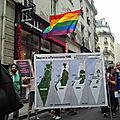 Enorme mobilisation de la <b>LGBT</b> à New York contre le sionisme et l'occupation de la Palestine