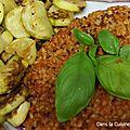 Quinoa et Boulghour à la <b>Sauce</b> <b>Tomate</b> Cajun