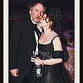 Tim Burton and <b>Helena</b> <b>Bonham</b> <b>Carter</b>