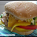 HAMBURGER AU <b>SAUMON</b>