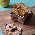 <b>Chips</b> de Pomme à la Cannelle