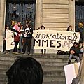 Journée internationale de la <b>femme</b>: manifestation à Lille