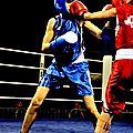1/2 finale de boxe amateur du 18 octobre 2014 a leffrinckoucke,les 2 combats feminins de la soirée,