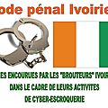 CODE PNAL IVOIRIEN : PEINES ENCOURUES PAR LES 