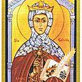 De la conversion de Saincte Eustelle, fille du Seigneur du pays.