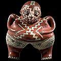 <b>Vénus</b> Callipyge debout, Culture Chupicuaro, État du Guanajuato, Mexique, Préclassique récent, 400-100 av. J.-C.