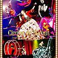 Cover DVD/BR de l'ARENA TOUR 2015 A Cirque de Minuit - Mayonaka no Circus - The FINAL