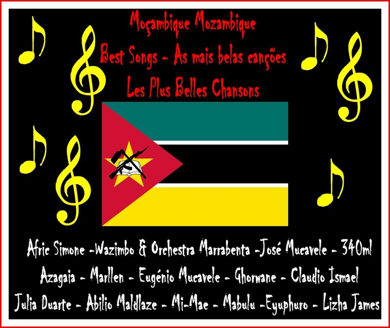 Mozambique Moçambique as mais belas canções Best Songs Les plus belles chansons Artgitato Ranking