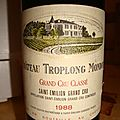 chateau Troplong Mondot 1988 <b>saint</b>-<b>milion</b> grand cru class
