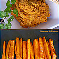 Houmous de <b>carottes</b>