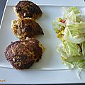 Les Crabcakes du Maryland