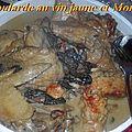 Poularde au vin jaune et aux <b>Morilles</b>