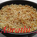 Ruz Bi Shirieh - Arabic <b>Rice</b> with Vermicelli