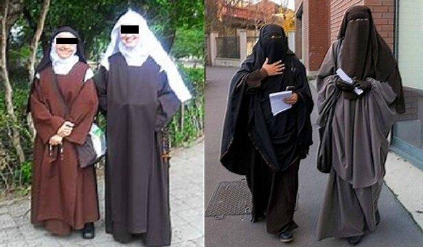 religieuses chrétiennes et musulmanes 2