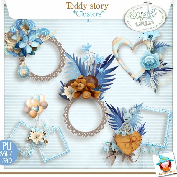 Kastagnette_TeddyStory_Clusters_PV