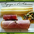 Asperges  l'<b>Alsacienne</b> 