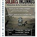 Animation: venez jouer à Soldats Inconnus à la médiathèque!