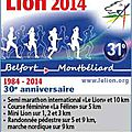 Semi-marathon du <b>Lion</b> 2014, son 30ème anniversaire… le second !