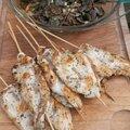 Escalopes de poulet en brochette, champignons persillés, brocolis et fenouil / La Plancha ENO