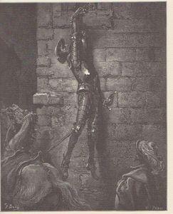Cervantes Quichotte par G Doré 1