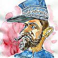 Les caricatures du temps passé - 127 - le <b>Général</b> Boulanger