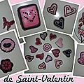 Biscuits de <b>Saint</b>-<b>Valentin</b>