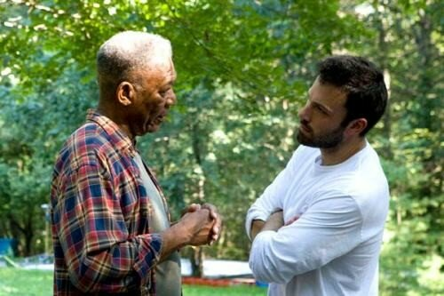 Morgan Freeman et Ben Affleck