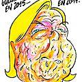 Gueule de bois... - par juin - Charlie Hebdo N°1221 - 16 décembre 2015