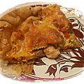 Tarte poulet, poivrons et mozarella