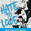 Hate to love de Penelope Douglas