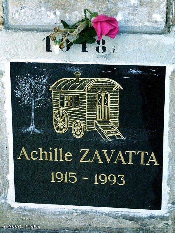 ACHILLE ZAVATTA - Photo de Cimetière du Père Lachaise - Paris ...
