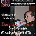 Bernard Teboul, Love Scories et autres curiosités