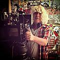 Sur le tournage de JT <b>Leroy</b>