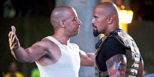 Vin Diesel face à The Rock - le combat des chefs