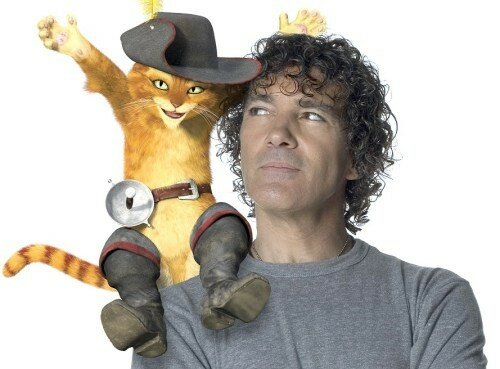 Antonio Banderas & le Chat Potté