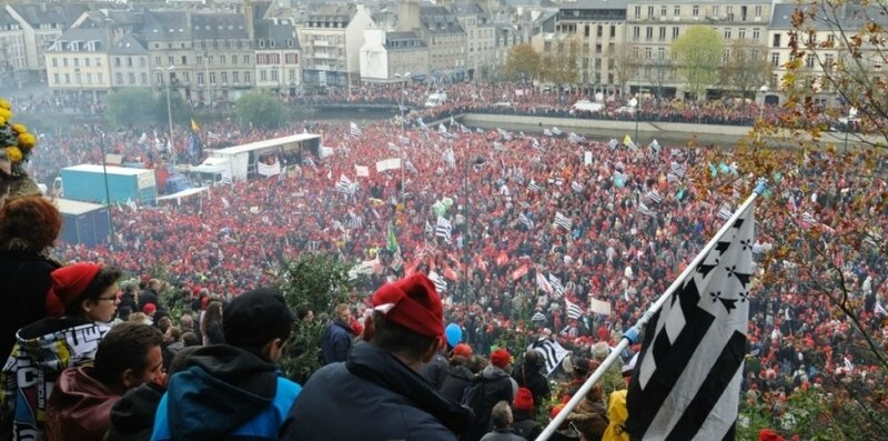 L'IMPUISSANCE et le MEPRIS du JACOBINISME PARISIEN met en péril l'unité nationale de la République Française.