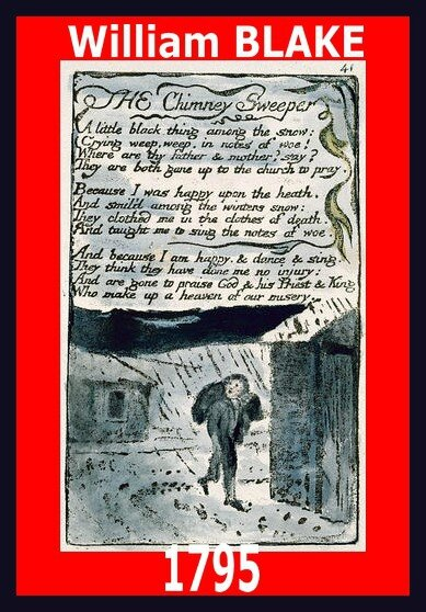 1795 The Chimney Sweeper William Blake Le Ramoneur Songs of Experience Artgitato Traduction