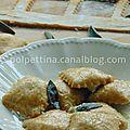 Raviolis à la farine de farro, farce citrouille et <b>ricotta</b>