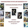 Grandmasters of Fine Arts 2017 - Online exhibition