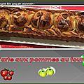<b>Tarte</b> de blé noir aux pommes au four
