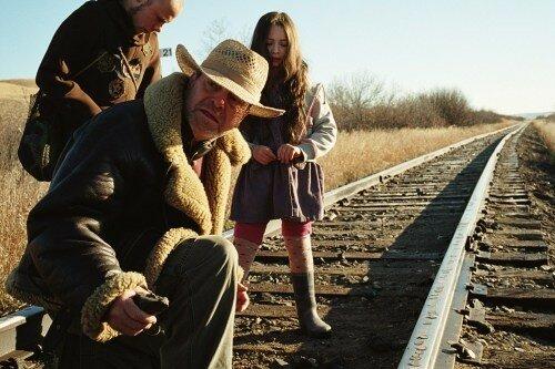 Brendan Fletcher, le réalisateur Terry Gilliam & Jodelle Ferland