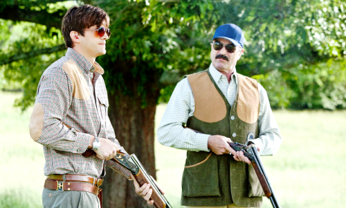 Ashton Kutcher et Tom Selleck